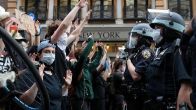 Photo of Protesters clash with police in New York City in latest demonstrations