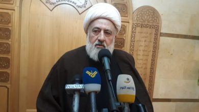 Photo of Any Movement against Resistance is an Aggression on Lebanese People: Sheikh Khatib