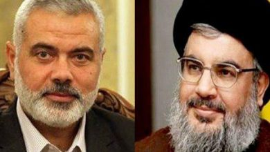 Photo of Hezbollah Receives Message from Haniyeh to Sayyed Nasrallah about Israeli Annexation Plot
