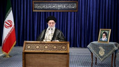 Photo of Leader of Islamic Ummah Imam Sayyed Ali Khamenei: US against Iran like 'camel dreaming of cottonseed'