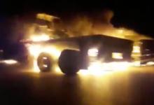 Photo of Terrorist US military convoy blown up in Iraq's Diwaniyah: Reports