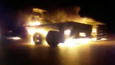 Photo of Terrorist US military convoy blown up in Iraq's Diwaniyah: Reports