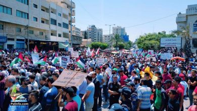 Photo of Gaza rallies, Hamas rocket fire warn against 'israeli' expansionism
