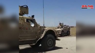 Photo of Syrian Army intercepts US military convoy near Qamishli, refuses to give access to road