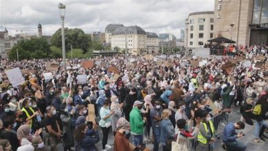 Photo of Belgium: Thousands denounce university headscarf ban ruling in Brussels