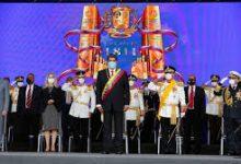 Photo of Venezuela's Maduro censures 'criminal' US sanctions during military parade