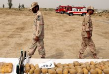 Photo of Iranian forces score big drug bust near Afghan border
