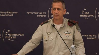 Photo of Zionist Chief of Staff in Desperate Attempt to Boost Occupation Forces' Morale