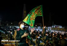 Photo of IN PICTURES: 6th night of Muharram mourning in Imam Hussein University