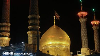 Photo of IN PICTURES: Muharram mourning ceremony at Fatima Masumeh's holy shrine