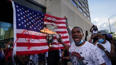 "Photo of ""US protests are a fire under ashes that will destroy the current American system"""