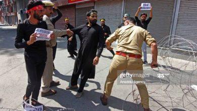 Photo of Curfew in Kashmir as Muslims mark Ashura