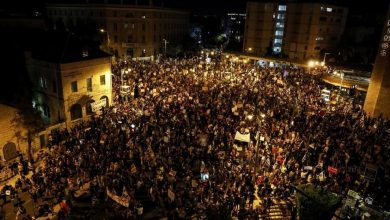 Photo of Zionist Entity: Protests against Netanyahu Expand