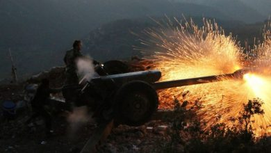 Photo of Syrian Army strikes terrorist fortifications in strategic mountain region