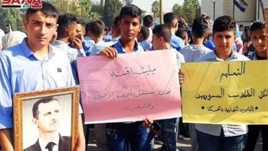 Photo of Syrian Students, Teachers Protest in Hasakah as Militants Occupy Schools