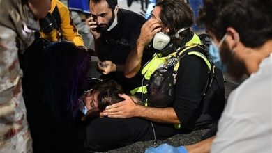 Photo of Shocking Footage Shows Truck Runs Over Protester in US