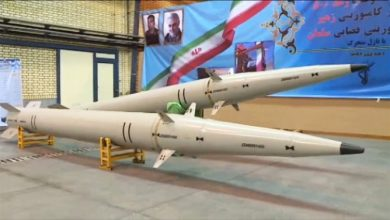 Photo of Iran unveils new Raad-500 missiles