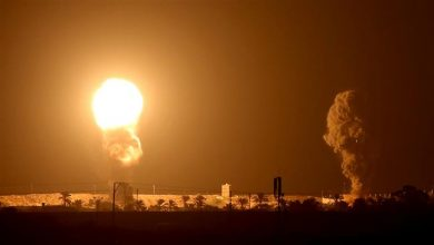 Photo of Zionist regime strike Gaza after rocket barrage from strip amid fallout over Arab normalization deals