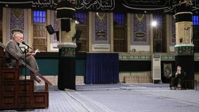 Photo of Leader attends mourning ceremony of fourth Ahlul Bayt Imam