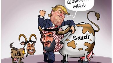 Photo of Caricature: US efforts to milk UAE, Saudi Arabia