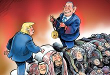 Photo of Caricature on Supreme Leader's website satirizes Arab-Israel peace deals