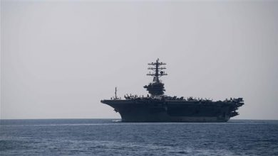 Photo of Great Satan USS Nimitz aircraft carrier enters Persian Gulf after Pompeo's threats against Iran