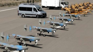 Photo of Iranian-made combat drones, copters join IRGC naval fleet