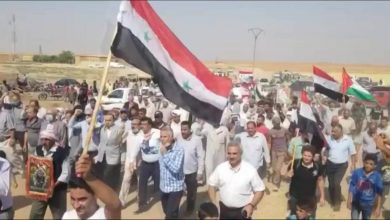 Photo of VIDEO: Massive protest held in Qamishli against Turkish and US forces in Syria
