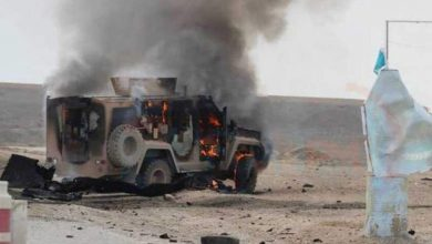 Photo of Explosion in Iraq targets US convoy