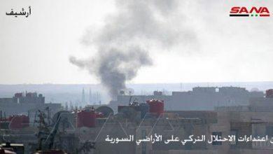 Photo of Turkish occupation mercenaries attack, loot civilians' houses in Hasaka countryside