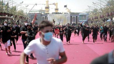 Photo of Iraqi People Converge on Karbala on Eve of Arbaeen
