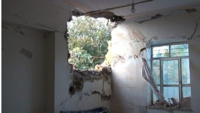 Photo of Another Karabakh War Rocket Hits House at Iran's Bordering Village