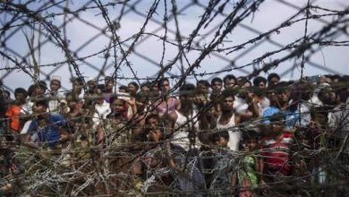 Photo of Rohingya Muslim refugees living in 'open prison' in Myanmar: HRW