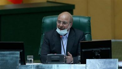 Photo of Parliament speaker Qalibaf: Muslim states should not comply with US sanctions against Iran