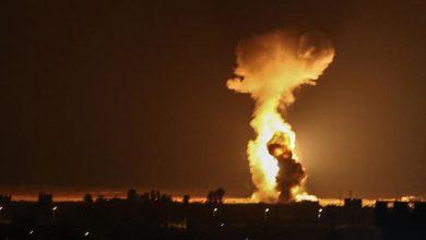 Photo of Zionist Israeli warplanes, helicopters launch fresh air raids in Gaza