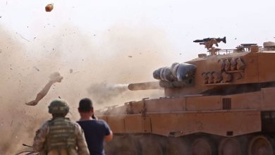 Photo of Turkish forces, takfiri terrorists shell town in northeastern Syria
