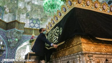 Photo of PHOTOS: Hazrat Masoumeh holy shrine in Qom blanketed in black