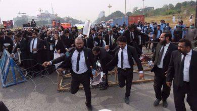 Photo of Pakistani lawyers protest French Islamophobia, urge closure of its embassy