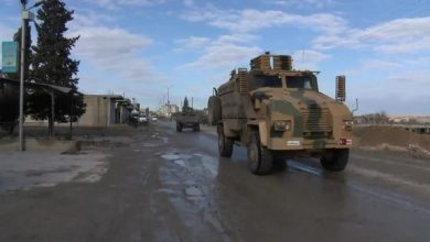 Photo of Large Turkish army convoy enters northwestern Syria as they setup new posts inside Idlib