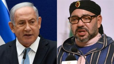 Photo of Child killer Netanyahu has 'friendly' call with Morocco's traitor king, invites him to visit occupied lands