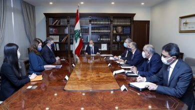 Photo of President Aoun to US Delegation: Lebanon Maintains Sovereignty over Land, Waters