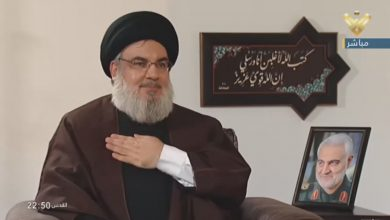 Photo of Sayyed Nasrallah: Martyr Suleimani Coordinated in Iran Providing Hezbollah with Money to House Shelterless People after 2006 War