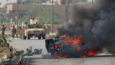 Photo of Terrorist US military convoy targeted in southeastern Iraq