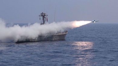 Photo of Iran's Navy cruise missiles successfully hit targets during drill