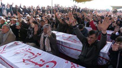 Photo of Ayatollah Sheikh Isa Qassim sympathizes with Pakistan's Hazara Muslims after Daesh bloodshed
