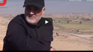 Photo of VIDEO: Rare footage shows Qassem Soleimani in Syria during battle against ISIS