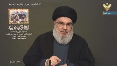 Photo of Sayyed Nasrallah: Resistance Missiles, Provided by Iran, Protect Lebanon's Sovereignty, Natural Resources